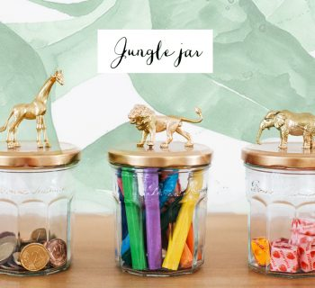 DIY :  Jungle jar [bocanimal]