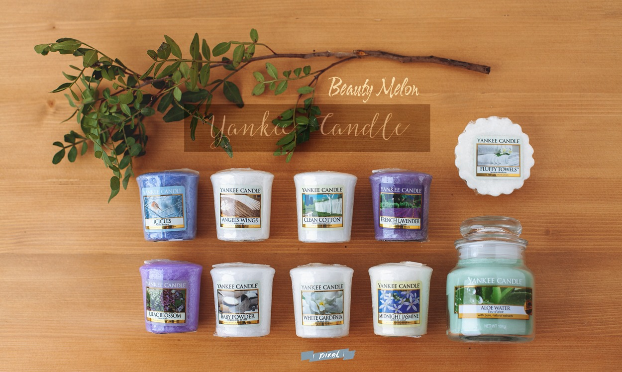 [Mum'zelle] : Haul Yankee Candle [ Beauty Melon ]