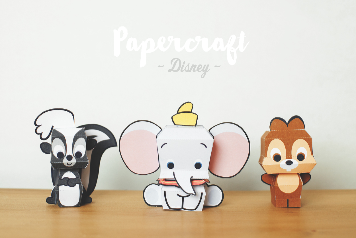 DIY : Papercrafts de Disney
