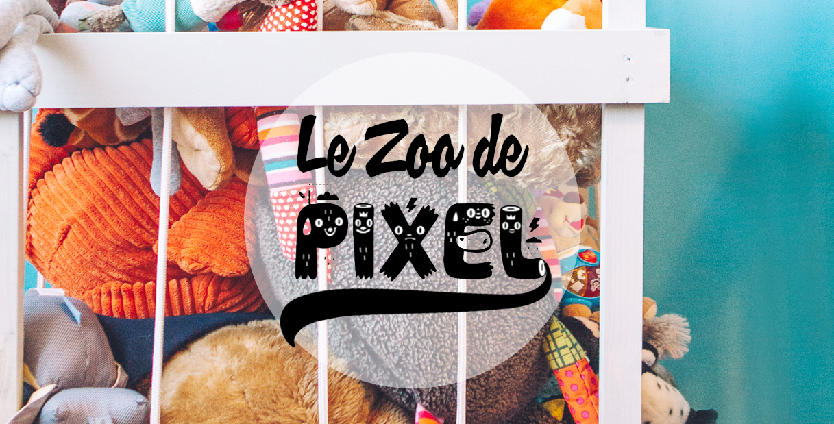 DIY : Le Zoo à peluches de Pixel