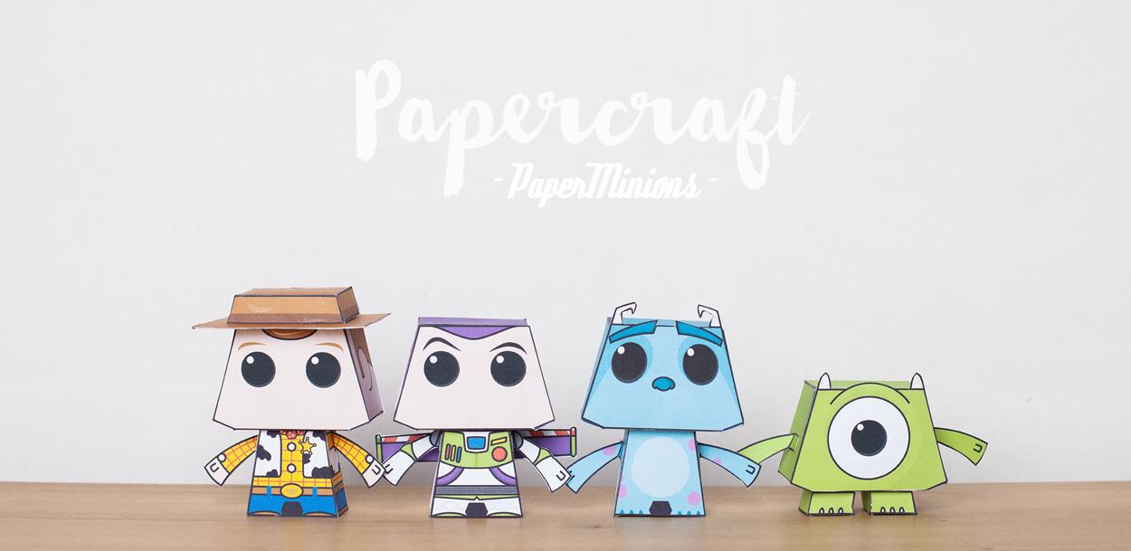 DIY : Papercrafts de PaperMinions