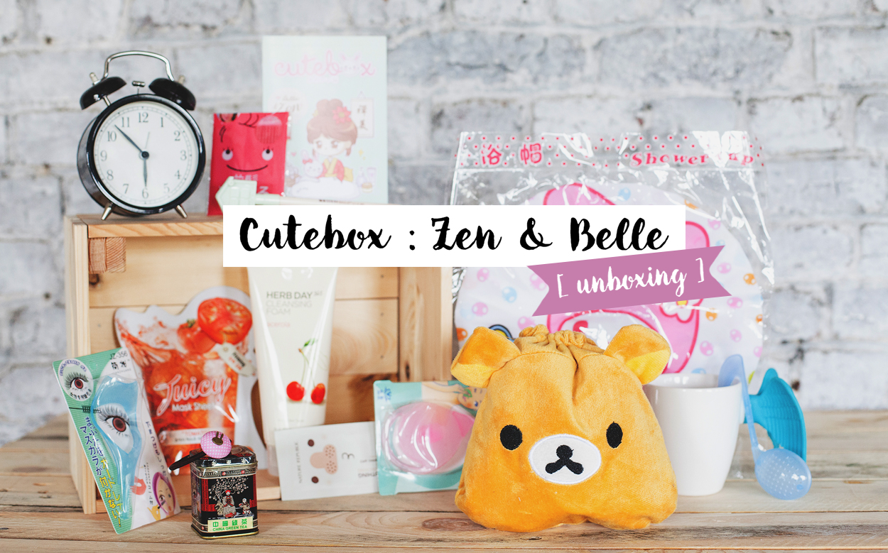 [ Unboxing ] : Cutebox [ mars 2015]