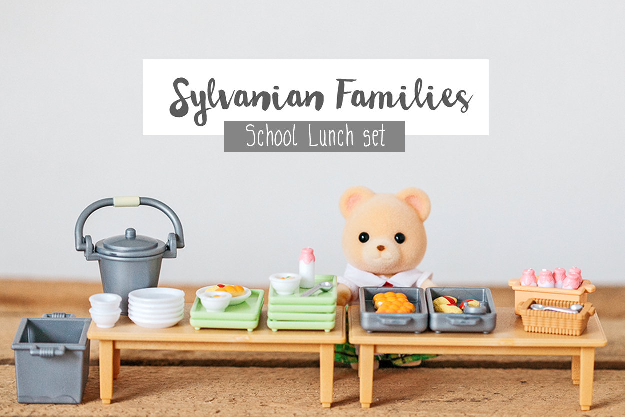 Sylvanian Families :: The School Lunch Set