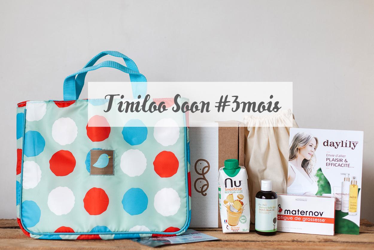 [ UNBOXING ] : Tiniloo « 3ème mois de grossesse – le ventre s'arrondit ! »