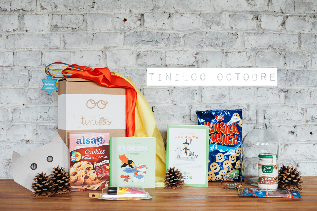 [ UNBOXING ] : Tiniloo « Happy Halloween ! » [ Octobre 2015 ]