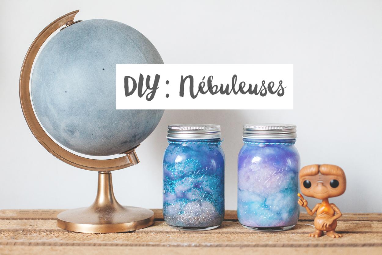 DIY : Nébuleuses