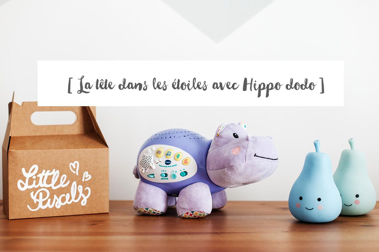 La jolie veilleuse hippo de Vtech