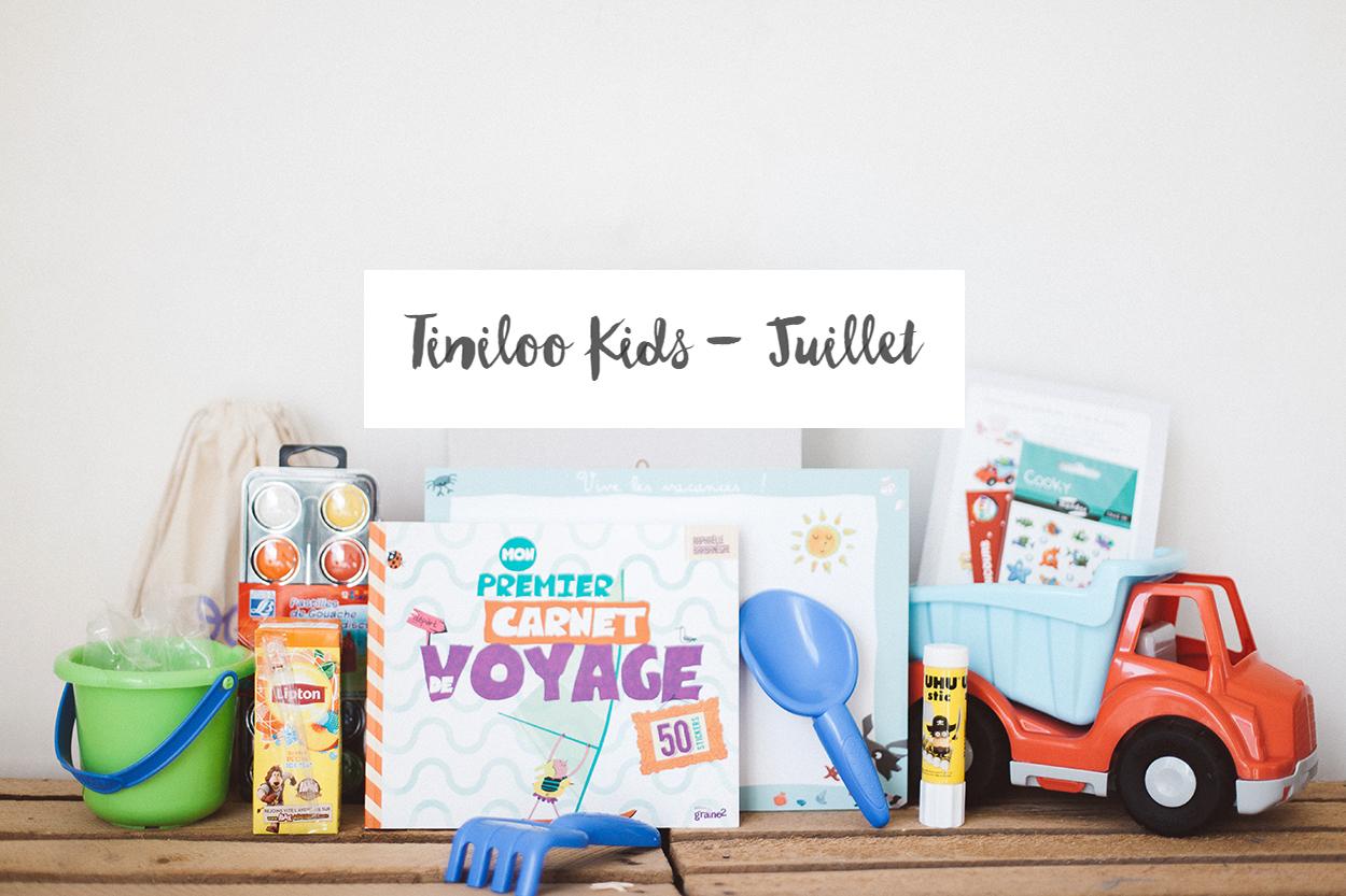 [ UNBOXING ] : TINILOO « Vacances à la mer » [Juillet 2016]