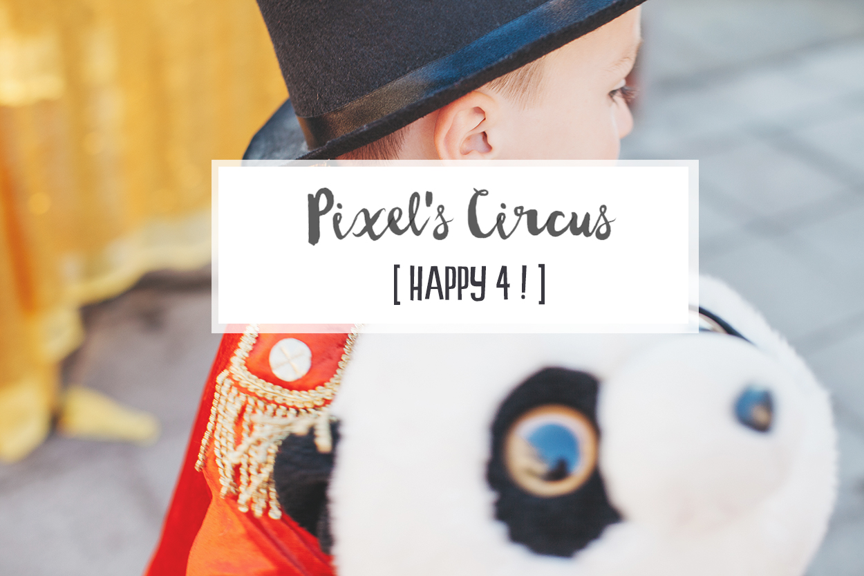 Circus Party ! – Happy 4 little Pixel