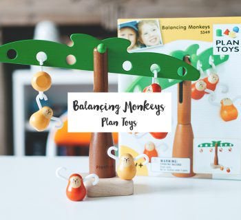 Balançing Monkeys #Plan Toys