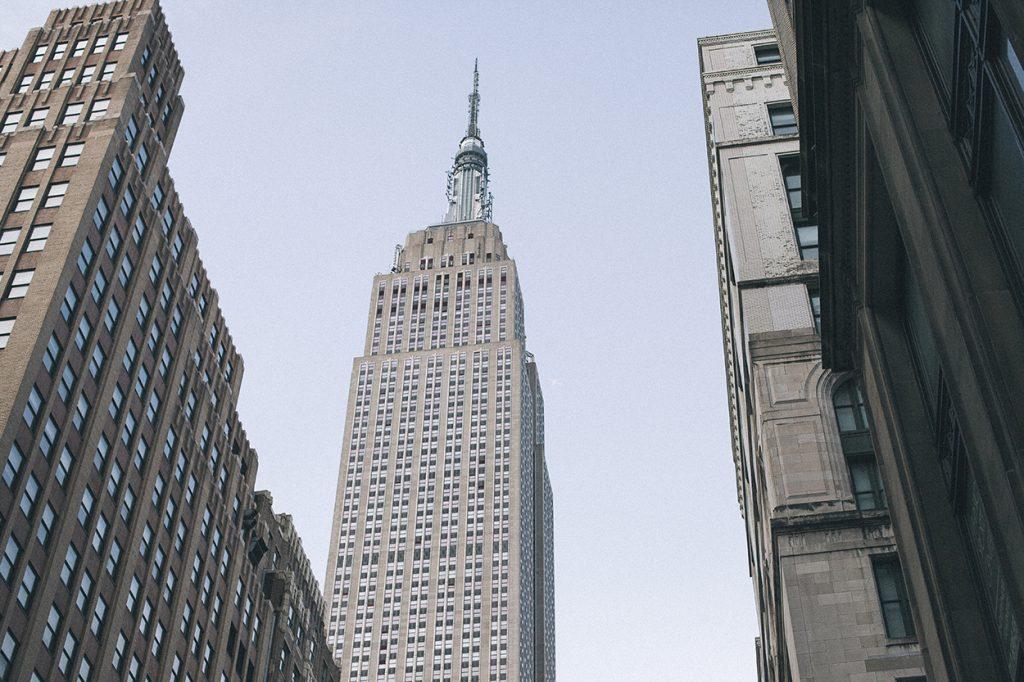 New York Manhattan Empire State building
