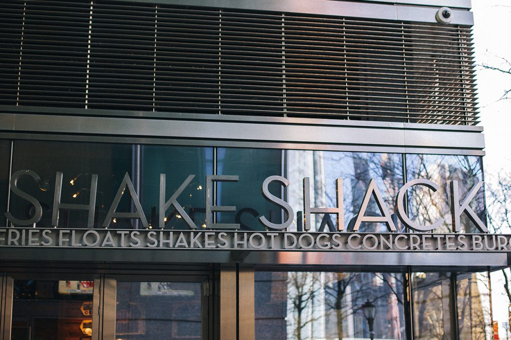 Manhattan Shake Shack