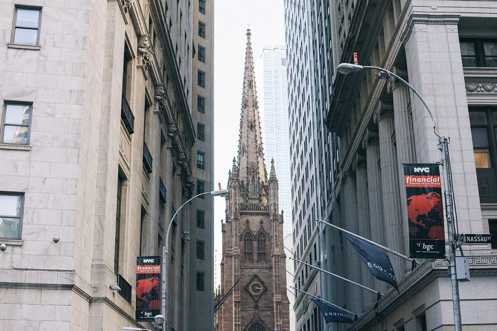 New York Manhattan Trinity church