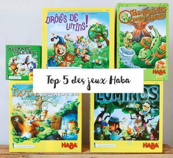 Haba, nos 5 jeux préférés
