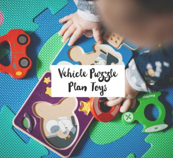 Vehicle Puzzle #Plan Toys