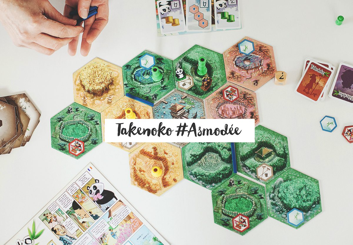 Takenoko #Asmodée