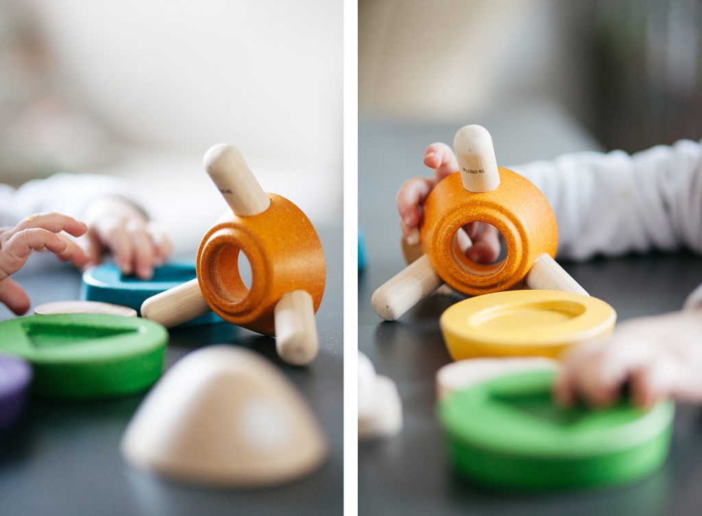 Stacking Rocket Plan Toys
