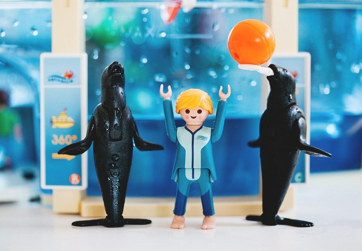L'aquarium marin #Playmobil