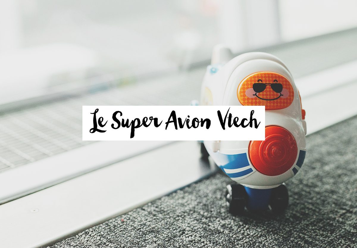 Mon Super Cargo 2 en 1 – avion Vtech