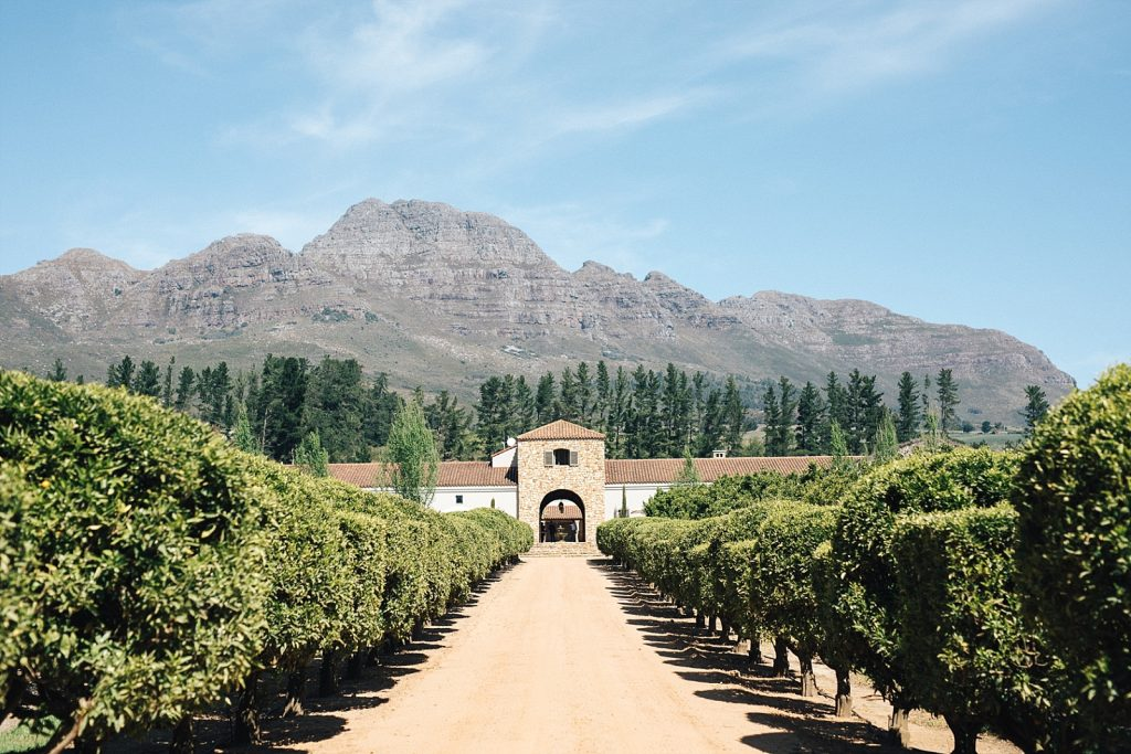 Cape Town Stellenbosch Waterford Estate