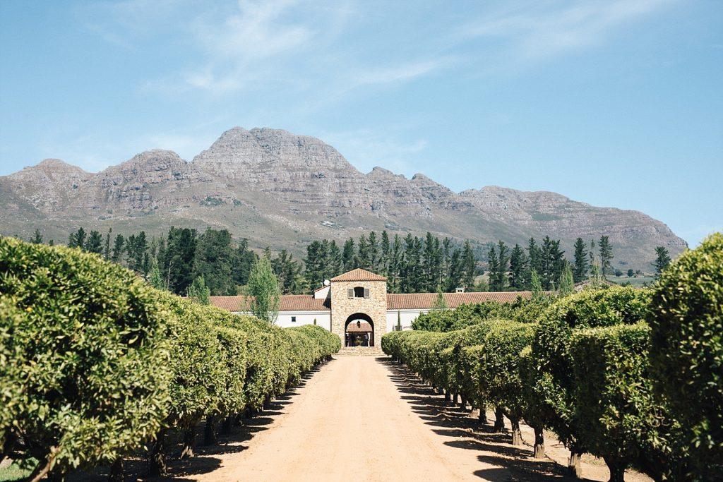 Cape Town Stellenbosch Waterford Estate