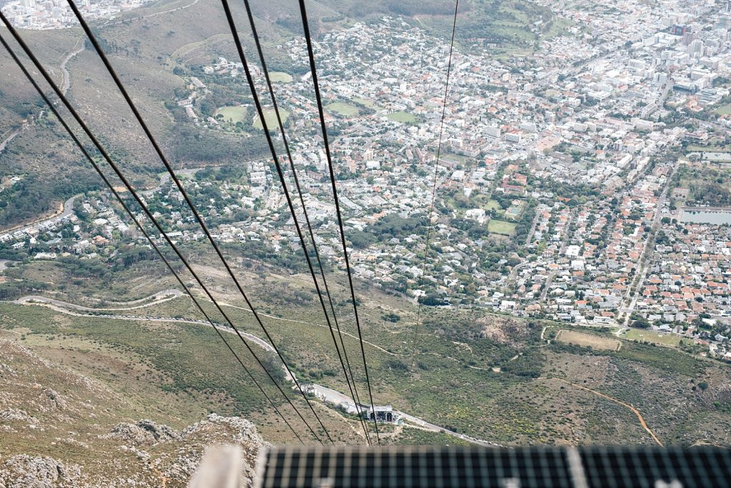 Cape Town, Table mountain, Cableway