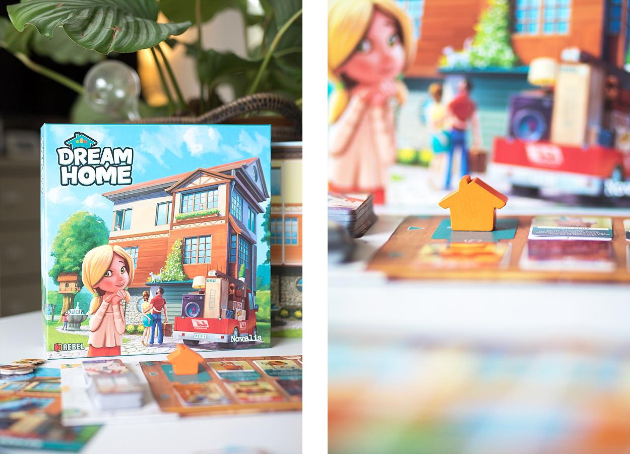 Dream Home, jeu société, Rebel, Asmodée, Novalis