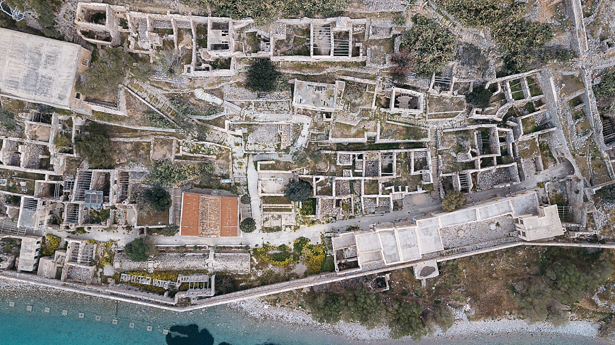 Crète Neckermann Spinalonga Lassithi Grèce