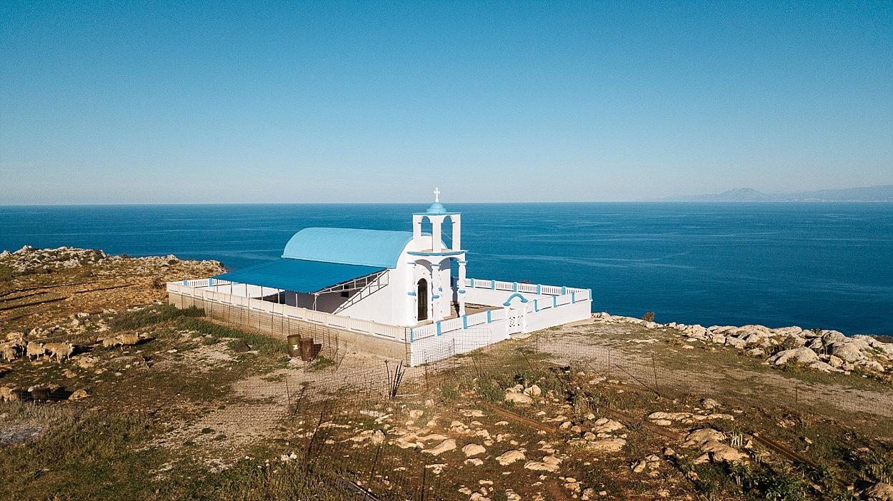 Canée Hania Chania Crète Seitan Limania Port au diable