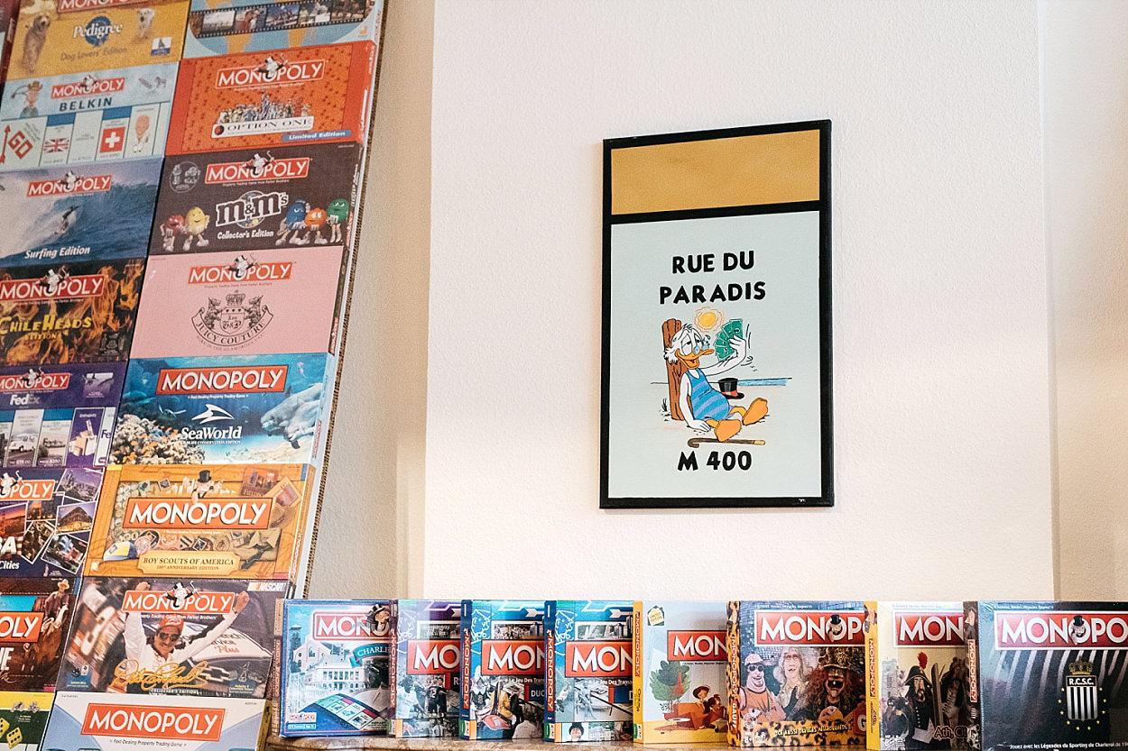 escape game Cabinet de Maître Hembise Charleroi Monopoly
