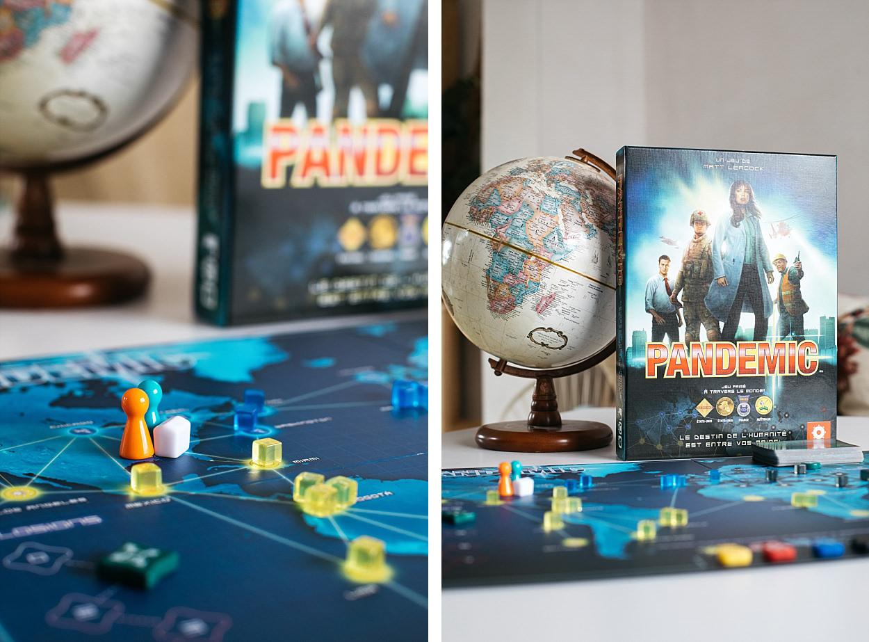 Pandemic, pandemie, asmodée, jeu de société, filosophia