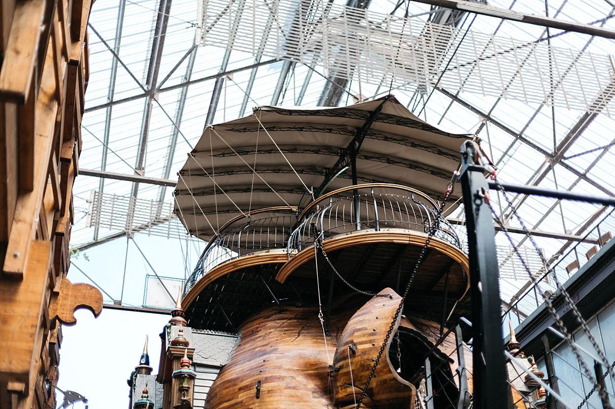 Nantes l'île des machines l'éléphant géant