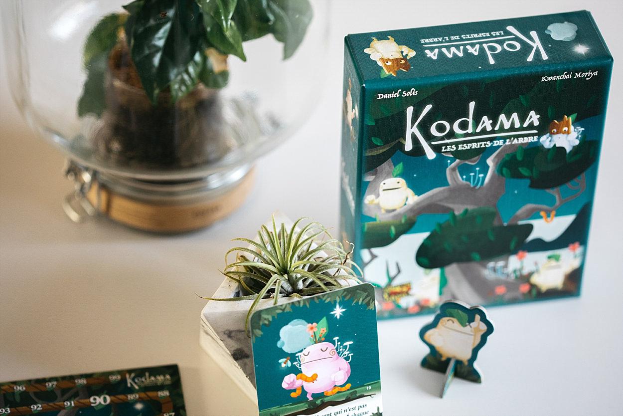 Kodama, les esprits de l'arbre; Iello jeu de société