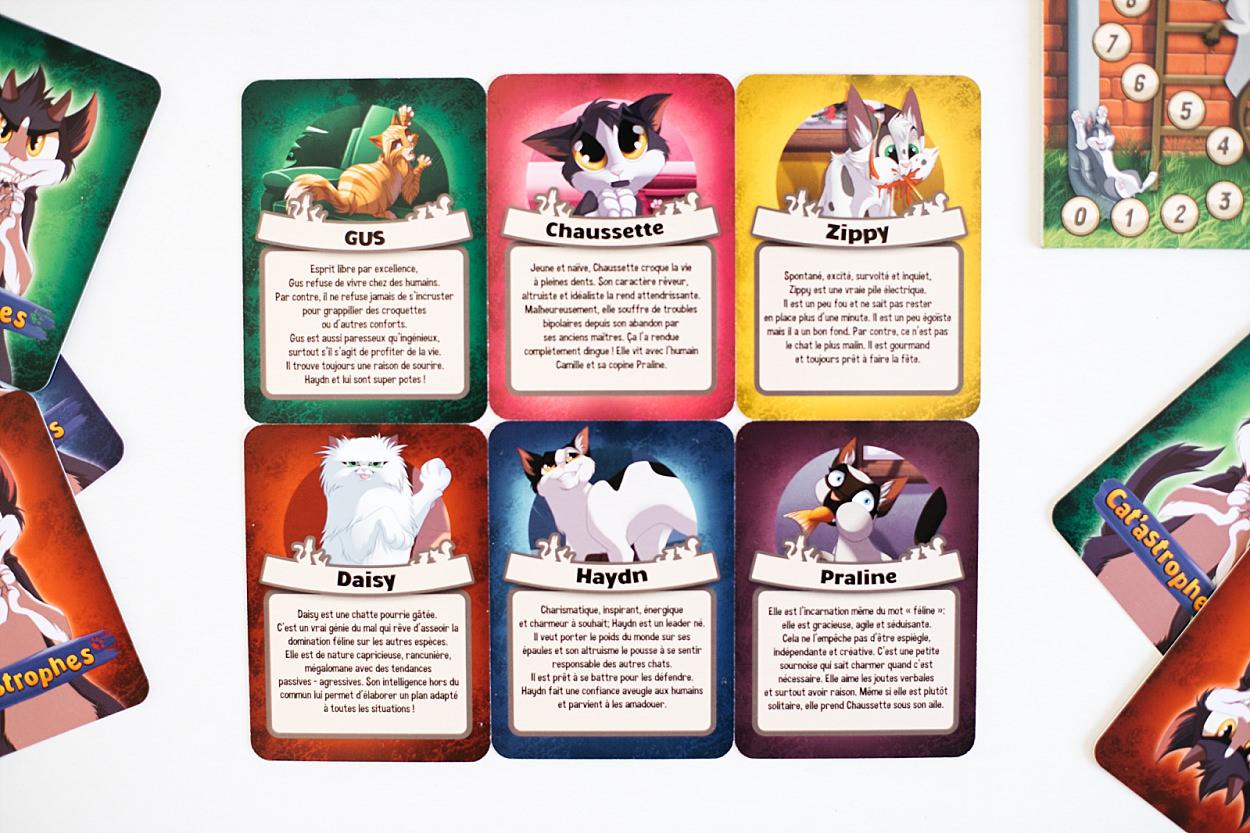 cat'astrophe asmodée jeu de société cartes chat