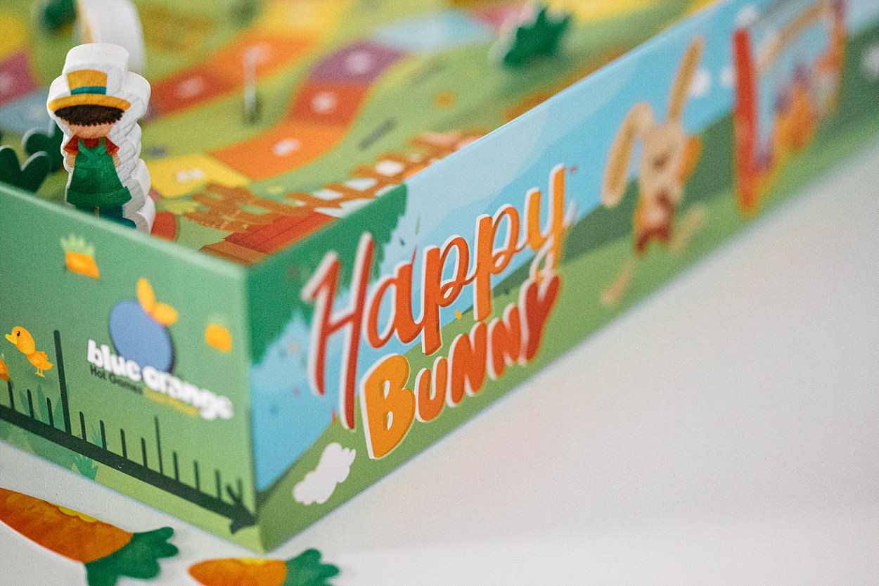 Happy bunny jeu société Blue orange boardgame