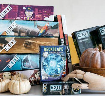 4 jeux d'Escape game à jouer n'importe où !