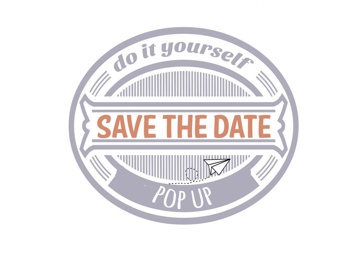 DIY : un joli save the date [pop up]