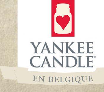 Yankee Candle en Belgique c'est facile !