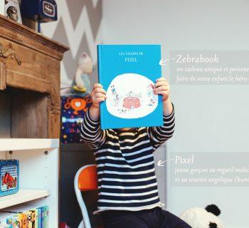 Zebrabook : un livre personnalisé made in Belgium