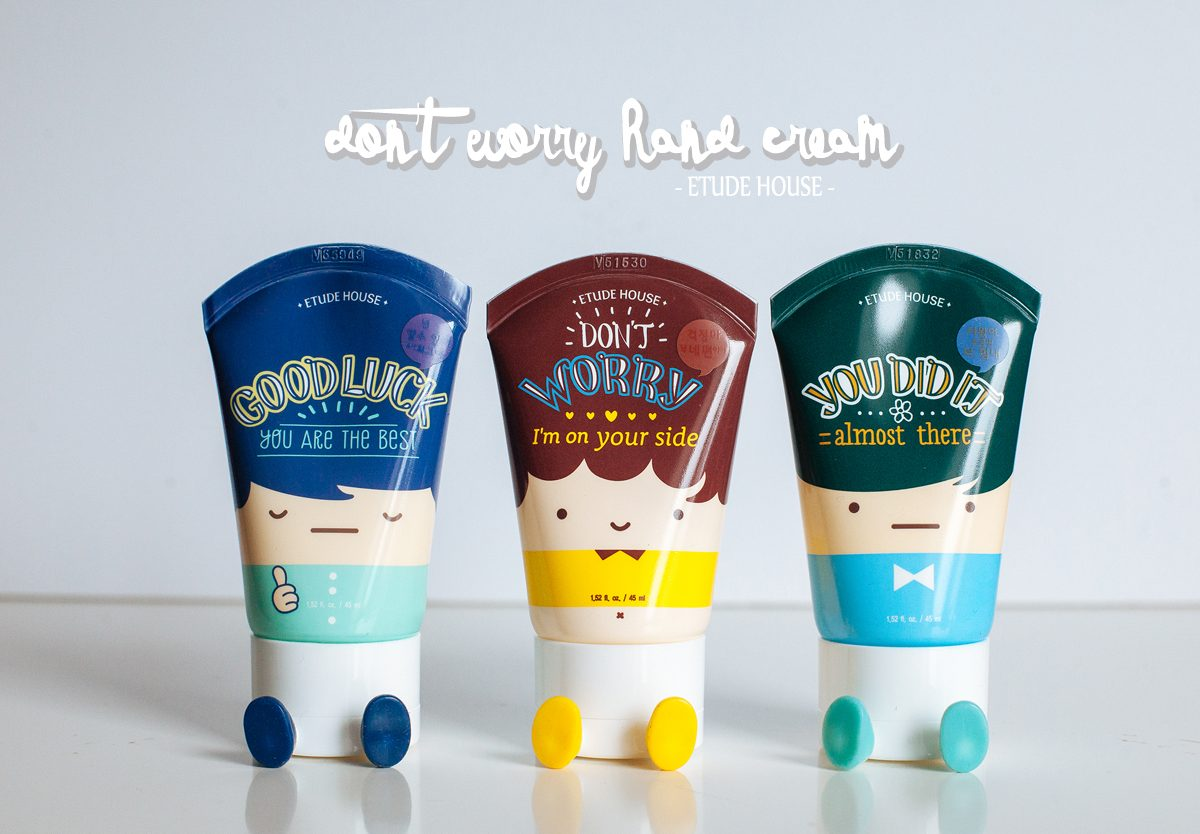 [Mum'zelle] Don't worry ! Etude House