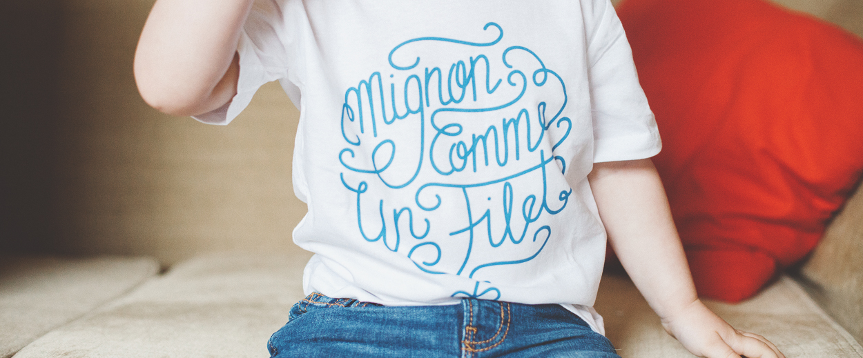 Mignon comme un filet // Collection Capsule [Bébétshirt]