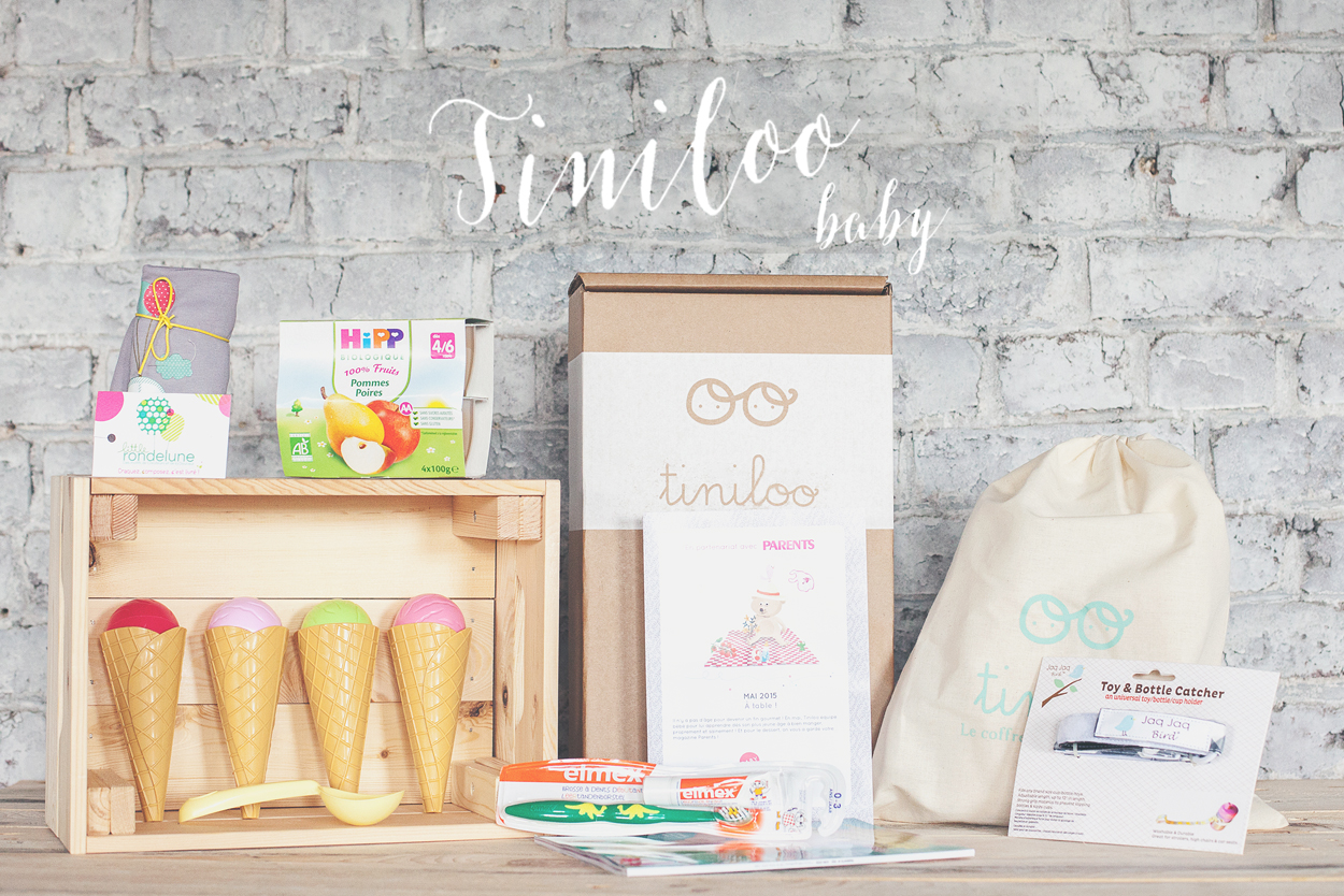[ UNBOXING ] : Tiniloo baby « A table » [ MAI 2015] –