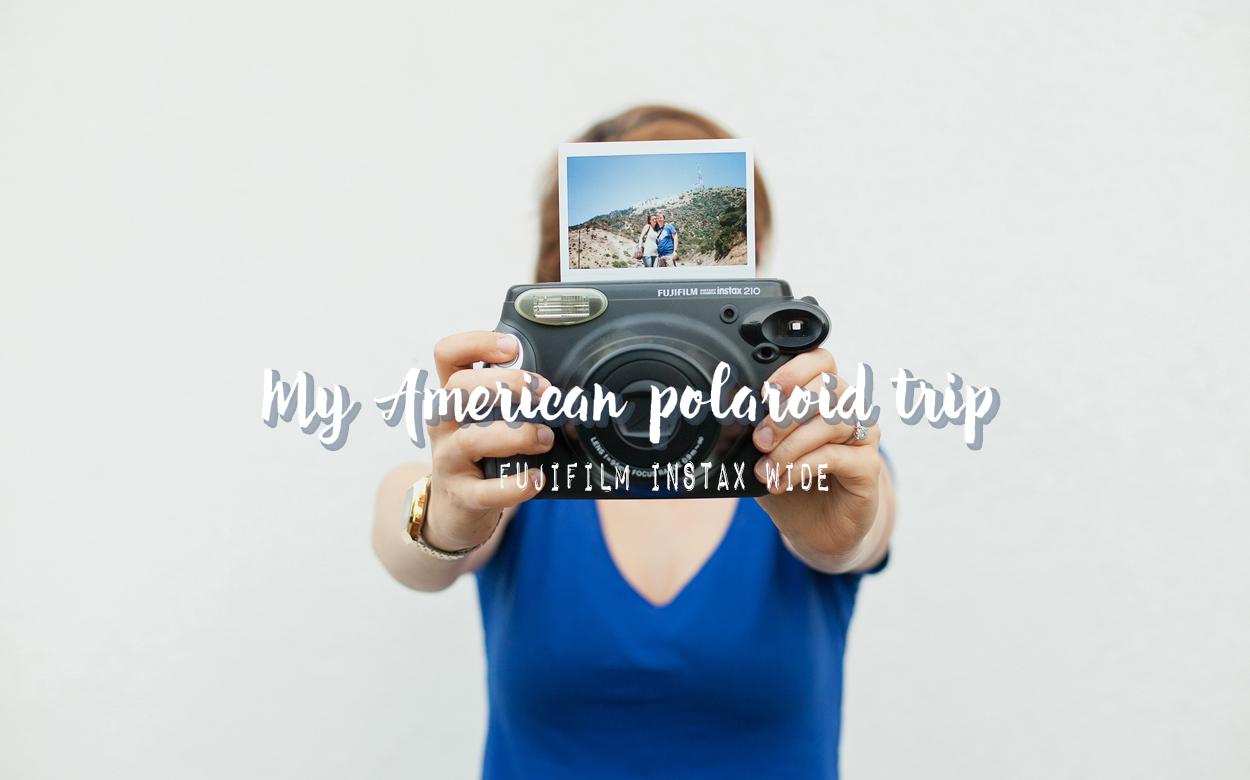 My american polaroid trip – Instax wide