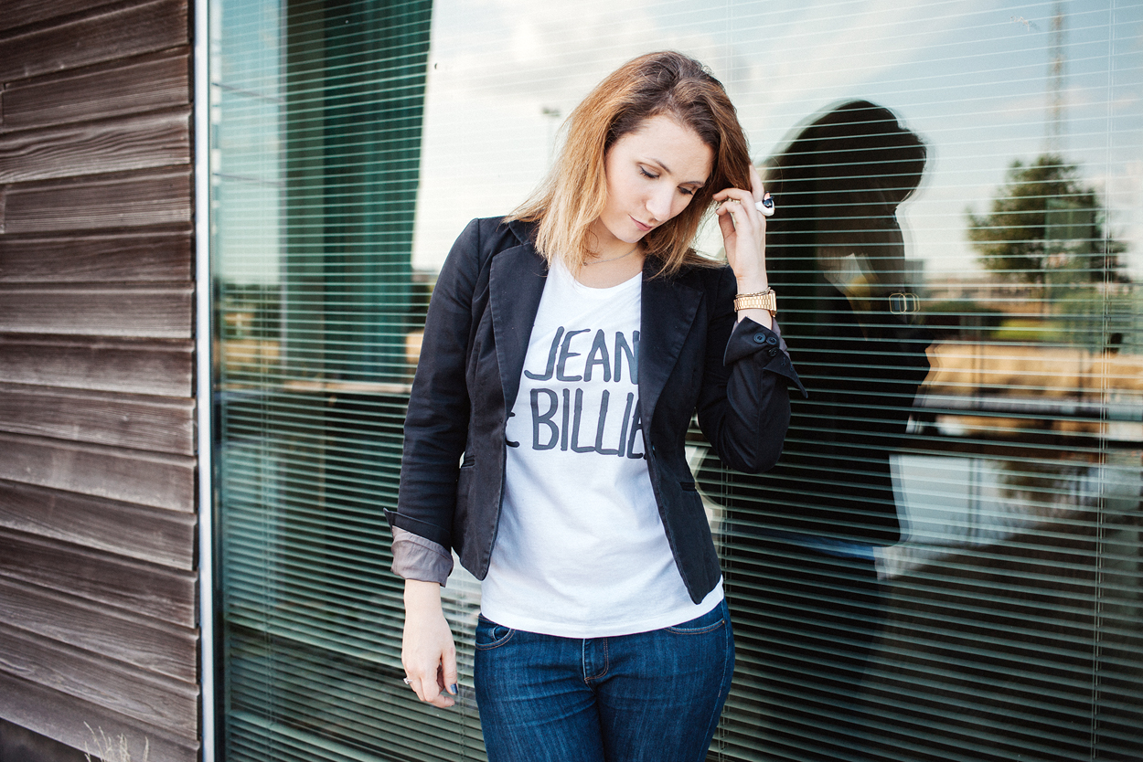 Outfit of the day : Le jean de Billie et ses Nike fleuries