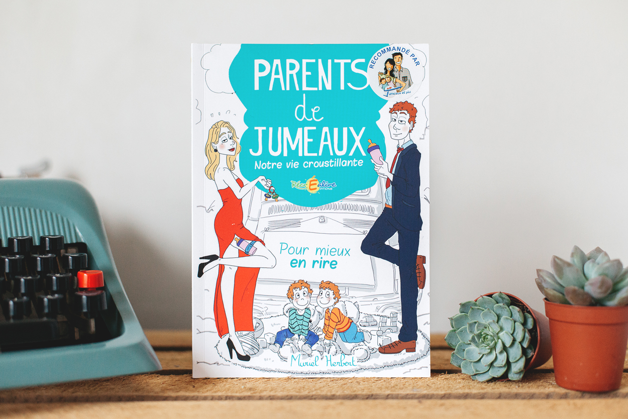 """J'ai adoré le livre """"Parents de Jumeaux""""  #twins"""