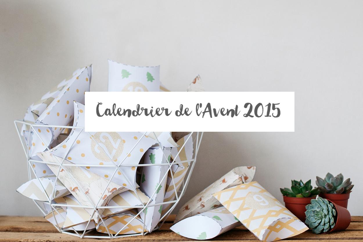 DIY : Calendrier de l'avent – pochettes 2015