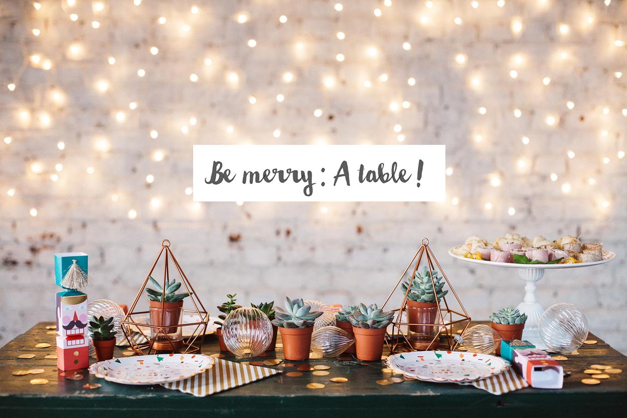 [ Be merry ] : inspiration noël