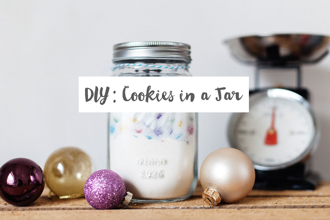 DIY : Cookies in a jar