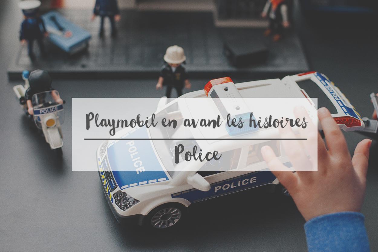 Playmobil en avant les histoires // Police