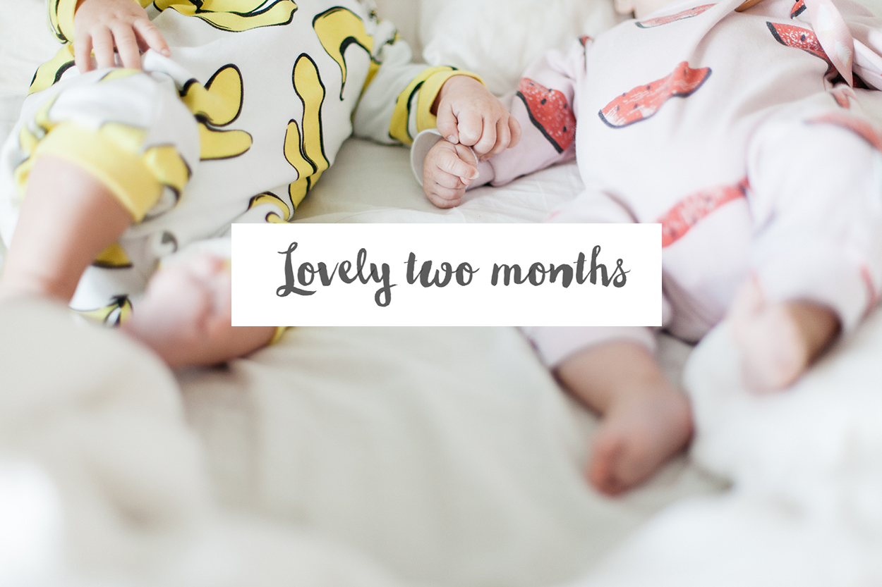 Jumeaux – Lovely two months !